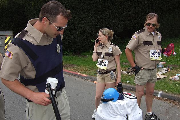 ... Tags costumes creative exercise fitness funny health humor Lt. Dangle marathon motivational photo Provo Halloween Half Marathon race ...  sc 1 st  Best Race Costumes - WordPress.com & Reno 911 costume | Best Race Costumes